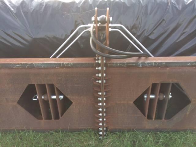MEZO/ eigenbouw kuilplastic oprolsysteem 12 meter